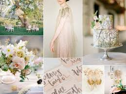 Vintage Garden Wedding Ideas Sun Kissed Blush Garden Wedding Decor Advisor