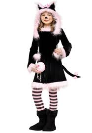 Kitty Cat Halloween Costumes Kids by Kids Pretty Kitty Costume Animal Children Fancy Dress Escapade Uk