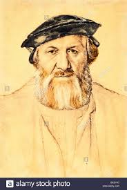 sketch by hans holbein the younger portrait of charles de solier