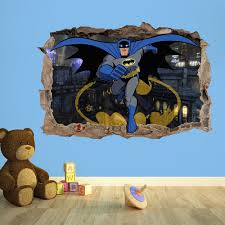 batman c 3d kids wall sticker kids bedroom vinyl wallsticker