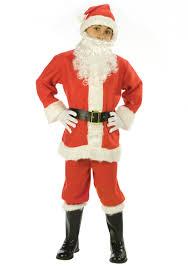 santa costumes child santa suit