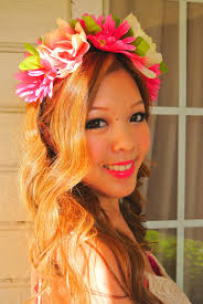 headband flowers with tutorial diy flower headband crown