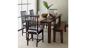Dining Room Chair Pillows Village Natural Chair Cushion Crate And Barrel