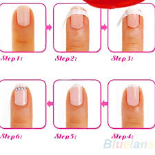 aliexpress com buy each pack includes 48 guides french manicure