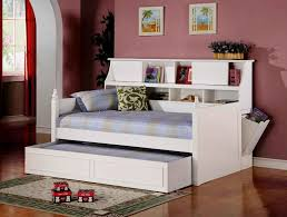 full size day daybed with storage drawers foter white frame