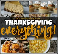 thanksgiving everything mix and match