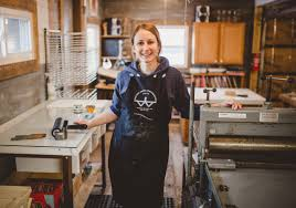 studio tour with woodblock printmaker lemuette in rockford illinois