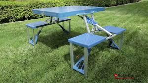 aluminum portable picnic table furniture outsunny new outdoor table using portable picnic table