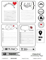 4 images black white smash book printables smash