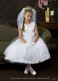 communion dresses satin organza communion dress with flower petals white