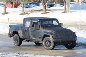 jeep truck spy photos spied jeep jt scrambler pat callinan s 4x4 adventures