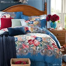 Royal Blue Comforters Wholesale 2015 Newest Oriental Bedding Sets Royal Blue Bedding 100