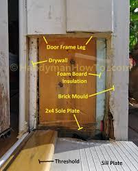Repair Exterior Door Jamb Repairing Door Frame Door Decorations