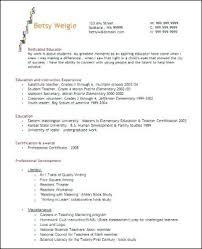 elementary resume template beginning resume sle elementary template word