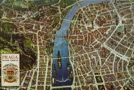 Prague Map Europe by Martin Pechanec U0027s Prague The Heart Of Europe