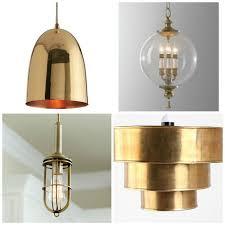 Brass Kitchen Ceiling Lights Kitchen Lighting Ideas