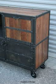 buy a custom made bar cart liquor cabinet vintage industrial