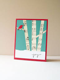 diy greeting card ideas u2013 paper art crafts with music sheets