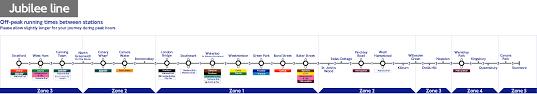 London Canada Map by London Underground Jubilee Line Station List U0026 Map