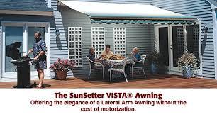 Sun Setter Awning Northeast Awning U0026 Window Co Sunsetter Patio Awning Vista