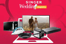 wedding registries online singer launches online wedding registry lanka
