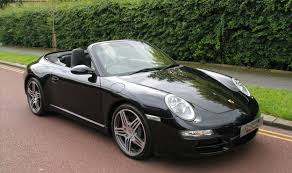 black porsche convertible porsche 911 c2s cabriolet car dealerships uk new used luxury