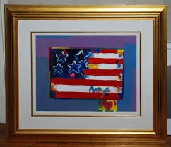 Painting A Flag Flag With Heart Georgetown Frame Shoppe