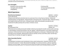busser resume sample unforgettable busser resume examples to