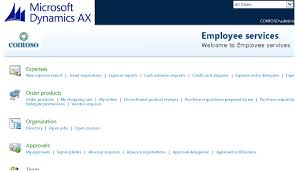 Trip Expense Report by Microsoft Dynamics Ax 2012 Travel And Expense Employee Self