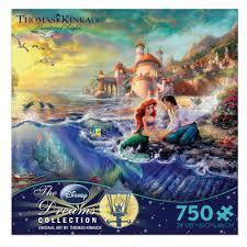 thomas kinkade halloween the little mermaid thomas kinkade 750 pc puzzle