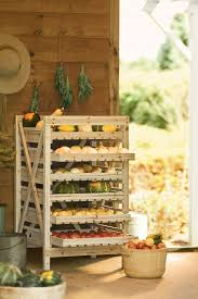 veggie racks are an ideal way to store your root vegetables and