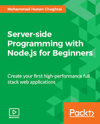 best node js books server side programming with node js for beginners video packt