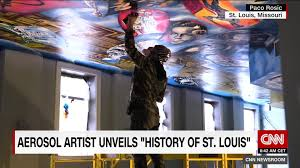spray painting st louis u0027 history artist eyes other cities cnn