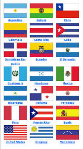 Best Country Flags Non Personalized Hispanic Flags Stoles Graduation Stoles Com