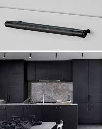 Kitchen Cabinets Handles Stainless Steel Kitchen Cabinet Handles And Polished Wood Designs To Remodel