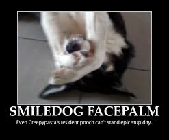 Meme Facepalm - smile dog funny facepalm memes pics bajiroo com