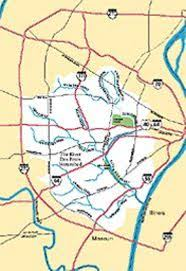 Platte River Map A Sewer Runs Through It Feature St Louis News And Events