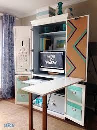 Modern Computer Desks by Top 25 Best Folding Computer Desk Ideas On Pinterest Fold Away