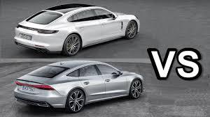 porsche hatchback interior 2018 porsche panamera vs 2018 audi a7 interior exterior and drive