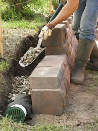 build landscape and retaining walls and keep them in tip top shape