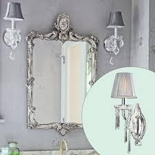 Crystal Bathroom Mirror Best 25 Crystal Sconce Ideas On Pinterest Crystal Bathroom