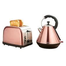 Selfridges Toaster Goodmans Copper Kettle U0026 Toaster Breakfast Set Toasters Kettle