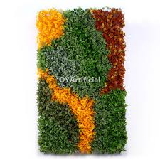 1x1m artificial ivy plant vertical green wall for home hotel