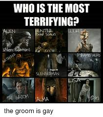 Dead Space Meme - who is the most terrifying unter alien dead space pyramid head