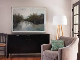 Livingroom Art Forget Gallery Walls Big Art Is The Hottest Trend In Wall