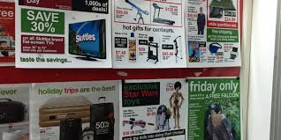 target black friday calander target black friday promo hijacked with satirical guerrilla ads