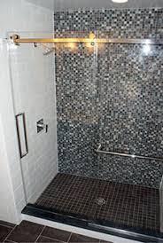 Shower Sliding Door Frameless Sliding Shower Doors Modern Glass Designs