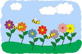 spring clip art for children