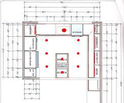 kitchen lighting plan home decoration ideas