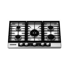 Cooktops Gas 30 Inch Kitchenaid Kfgu706vss 30